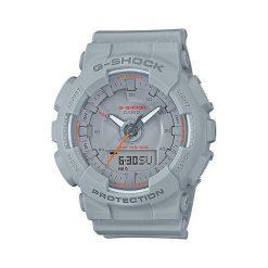 Zegarek Casio Damski  G-Shock Mini GMA-S130VC-8AER Krokomierz szary. Szare zegarki damskie CASIO. Za 419,00 zł.