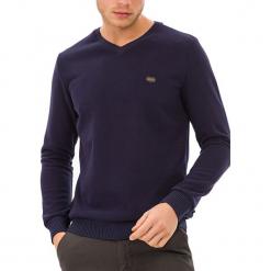Sweter w kolorze ciemnoniebieskim. Niebieskie swetry klasyczne męskie GALVANNI, l. W wyprzedaży za 159,95 zł.
