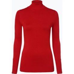 Marie Lund - Sweter damski, czerwony. Czerwone swetry klasyczne damskie Marie Lund, s, prążkowane, z golfem. Za 149,95 zł.