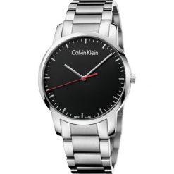 ZEGAREK CALVIN KLEIN City K2G2G141. Czarne zegarki męskie marki Calvin Klein, szklane. Za 899,00 zł.