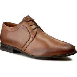 Półbuty GINO ROSSI - Chuck MPV678-N83-ZR00-2500-0 82. Brązowe buty wizytowe męskie Gino Rossi, ze skóry. W wyprzedaży za 229,00 zł.
