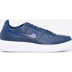 Nike Sportswear - Buty Air Force 1 Ultraforce. Szare halówki męskie Nike Sportswear, z materiału, na sznurówki. W wyprzedaży za 369,90 zł.
