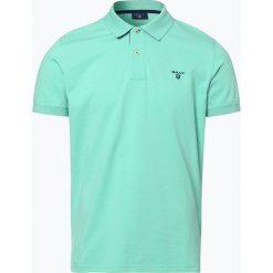 Gant - Męska koszulka polo – Rugger, zielony. Zielone koszulki polo marki GANT, m, z bawełny. Za 349,95 zł.