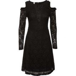 Sukienka koronkowa bonprix czarny. Czarne sukienki koronkowe marki bonprix. Za 139,99 zł.
