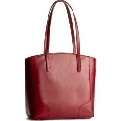 Torebka CREOLE - K10307  Czerwony. Czerwone torebki klasyczne damskie Creole, ze skóry. W wyprzedaży za 259,00 zł.
