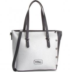 Torebka NOBO - NBAG-FD3720-C019 Czarny Srebrny. Czarne torebki klasyczne damskie marki Nobo, ze skóry ekologicznej. W wyprzedaży za 129,00 zł.