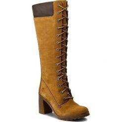 Kozaki TIMBERLAND - Allington 14In Side A1KBT/TB0A1KBT2311 Wheat. Żółte buty zimowe damskie marki Kazar, ze skóry, na wysokim obcasie, na obcasie. W wyprzedaży za 569,00 zł.