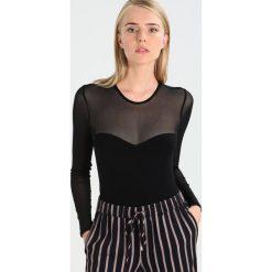 Bluzki asymetryczne: Bardot SWEETHEART Bluzka z długim rękawem black