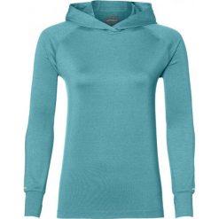 Asics Bluza damska Thermopolis LS Hoodie niebieska r. L (154548 1274). Szare bluzy sportowe damskie marki Asics, z poliesteru. Za 212,62 zł.