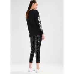 Bluzki asymetryczne: Converse STREET SPORT LONG SLEEVE Bluzka z długim rękawem black