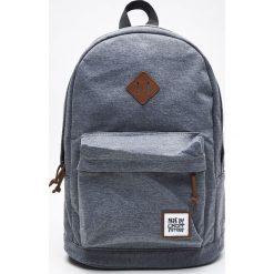 Plecak z kieszenią - Jasny szary. Szare plecaki męskie marki Cropp. W wyprzedaży za 49,99 zł.