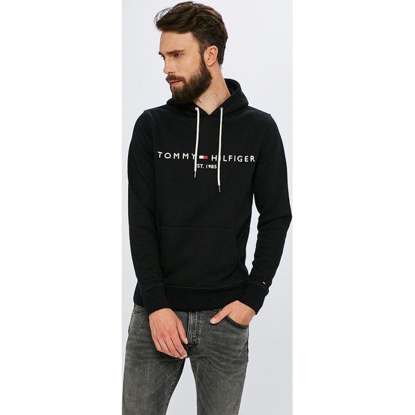 a30ab186ad536 Tommy Hilfiger - Bluza - Czarne bluzy męskie TOMMY HILFIGER