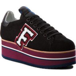 Sneakersy FABI - FD5840B Camoscio Nero. Czarne sneakersy damskie Fabi, z materiału. Za 919,00 zł.