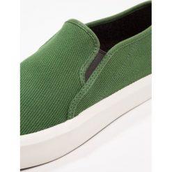 GStar STRETT SLIP ON Półbuty wsuwane deep nuri green. Szare półbuty męskie marki G-Star. Za 349,00 zł.