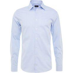 Tiger of Sweden FARRELL Koszula biznesowa light blue. Brązowe koszule męskie marki Tiger of Sweden, m, z wełny. Za 419,00 zł.