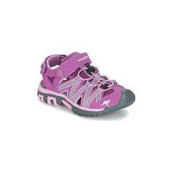 Sandały sportowe Dziecko  Kangaroos  OSATO. Fioletowe buty sportowe dziewczęce marki KangaROOS. Za 104,30 zł.