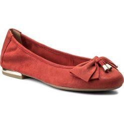 Baleriny CAPRICE - 9-22111-20 Red Pearl 510. Czerwone baleriny damskie zamszowe Caprice. W wyprzedaży za 179,00 zł.