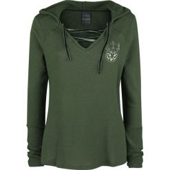 Outlander Fraser Bluza z kapturem damska ciemnozielony. Zielone bluzy z kapturem damskie Outlander, xl. Za 184,90 zł.