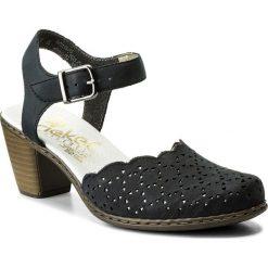 Rzymianki damskie: Sandały RIEKER – 40972-14 Blue