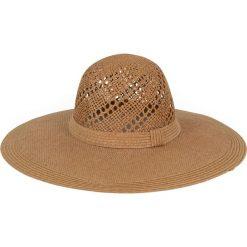 Kapelusz damski Natural beauty brązowy. Brązowe kapelusze damskie Art of Polo. Za 36,52 zł.