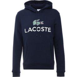 Lacoste Bluza z kapturem marine. Niebieskie bluzy męskie rozpinane Lacoste, m, z bawełny, z kapturem. Za 529,00 zł.