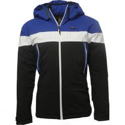 Kurtka narciarska w kolorze czarno-niebieskim. Czarne kurtki narciarskie męskie marki Peak Mountain, m, z materiału. W wyprzedaży za 393,95 zł.