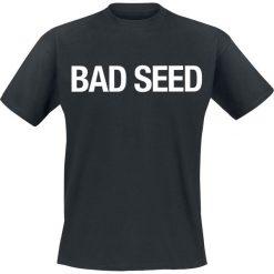 T-shirty męskie z nadrukiem: Bad Seed Logo T-Shirt czarny