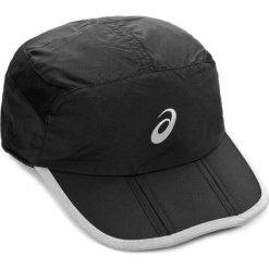Czapka z daszkiem ASICS - Running Cap 114690 0904 56CM Czarny. Czarne czapki z daszkiem męskie Asics, z materiału. Za 89,00 zł.