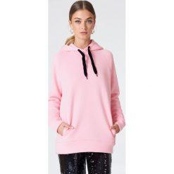Minimum Bluza Thoma - Pink. Różowe bluzy rozpinane damskie Minimum, z długim rękawem, długie. W wyprzedaży za 85,19 zł.