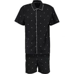Piżamy męskie: HOM FRENCHY SHORT WOVEN SLEEPWEAR Piżama black/white