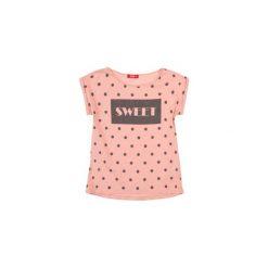 Bluzki dziewczęce na lato: bluzka dziewczęca z printem, w kropki