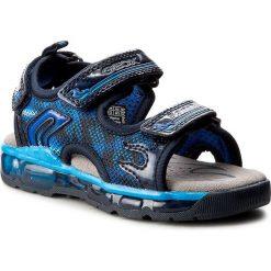 Sandały GEOX - J S.Android B.A J720QA 014CE C4226 Morski/Królewski. Niebieskie sandały męskie skórzane marki Geox. W wyprzedaży za 209,00 zł.