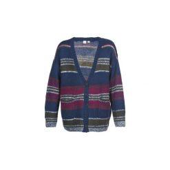 Swetry rozpinane / Kardigany Roxy  SUNRISE TO SUNSET. Białe kardigany damskie marki Roxy, l, z nadrukiem, z materiału. Za 279,20 zł.