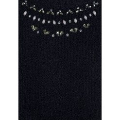 Swetry chłopięce: Abercrombie & Fitch SHINE COLD SHOULDER  Sweter solid navy
