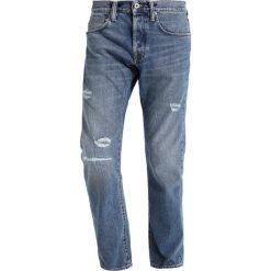 Spodnie męskie: Edwin ED55 REGULAR TAPERED Jeansy Zwężane takara repair wash