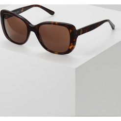 Tory Burch Okulary przeciwsłoneczne brown solid. Brązowe okulary przeciwsłoneczne damskie aviatory Tory Burch. Za 649,00 zł.