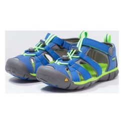 Keen SEACAMP II CNX Sandały trekkingowe true blue/jasmine green. Czerwone sandały chłopięce marki Keen, z materiału. Za 239,00 zł.