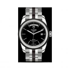PROMOCJA ZEGAREK TUDOR GLAMOUR. Czarne zegarki męskie TUDOR, ceramiczne. W wyprzedaży za 8950,00 zł.