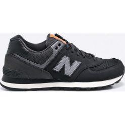 New Balance - Buty ML574GPG. Czarne buty skate męskie New Balance, z materiału, na sznurówki. W wyprzedaży za 239,90 zł.