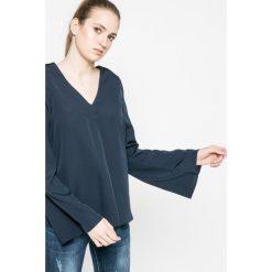 Vero Moda - Bluzka. Szare bluzki asymetryczne Vero Moda, m, z materiału, casualowe. W wyprzedaży za 29,90 zł.