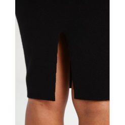Spódniczki ołówkowe: ICHI ELEMENTS  Spódnica ołówkowa  black