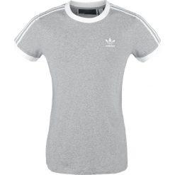 Bluzki damskie: Adidas 3 Stripes T-Shirt Koszulka damska jasnoszary/biały
