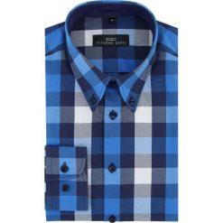 Koszula BIAGIO slim 16-03-15-K. Białe koszule męskie na spinki Giacomo Conti, m, z bawełny, button down, z długim rękawem. Za 149,00 zł.