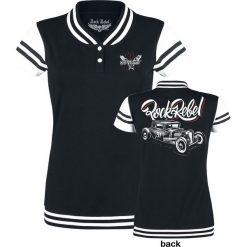Rock Rebel by EMP School Day Koszulka damska czarny. Szare t-shirty damskie marki Sinsay, l, z dekoltem na plecach. Za 114,90 zł.