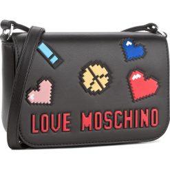 Torebka LOVE MOSCHINO - JC4069PP15LH0000 Nero. Czarne listonoszki damskie marki Love Moschino. W wyprzedaży za 519,00 zł.