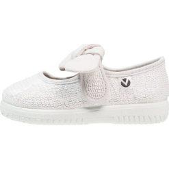 Baleriny damskie lakierowane: Victoria Shoes LUREX Baleriny z zapięciem plata