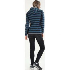 Bergans HOLLVIN LADY Sweter dark steelblue/steelblue striped. Niebieskie swetry klasyczne damskie Bergans, xs, z materiału. W wyprzedaży za 569,25 zł.
