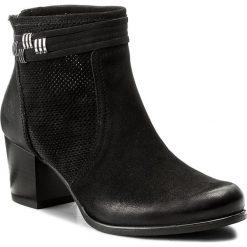 Botki LASOCKI - 1690-09 Czarny. Czarne buty zimowe damskie Lasocki, z materiału. Za 279,99 zł.