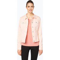 Bomberki damskie: s.Oliver Casual - Damska kurtka jeansowa, różowy