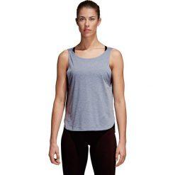 Bluzki damskie: Adidas Koszulka damska Prime Low Back niebieska r. L (CD3094 )